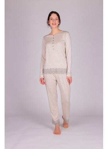 Hays Pijama Takım Bej